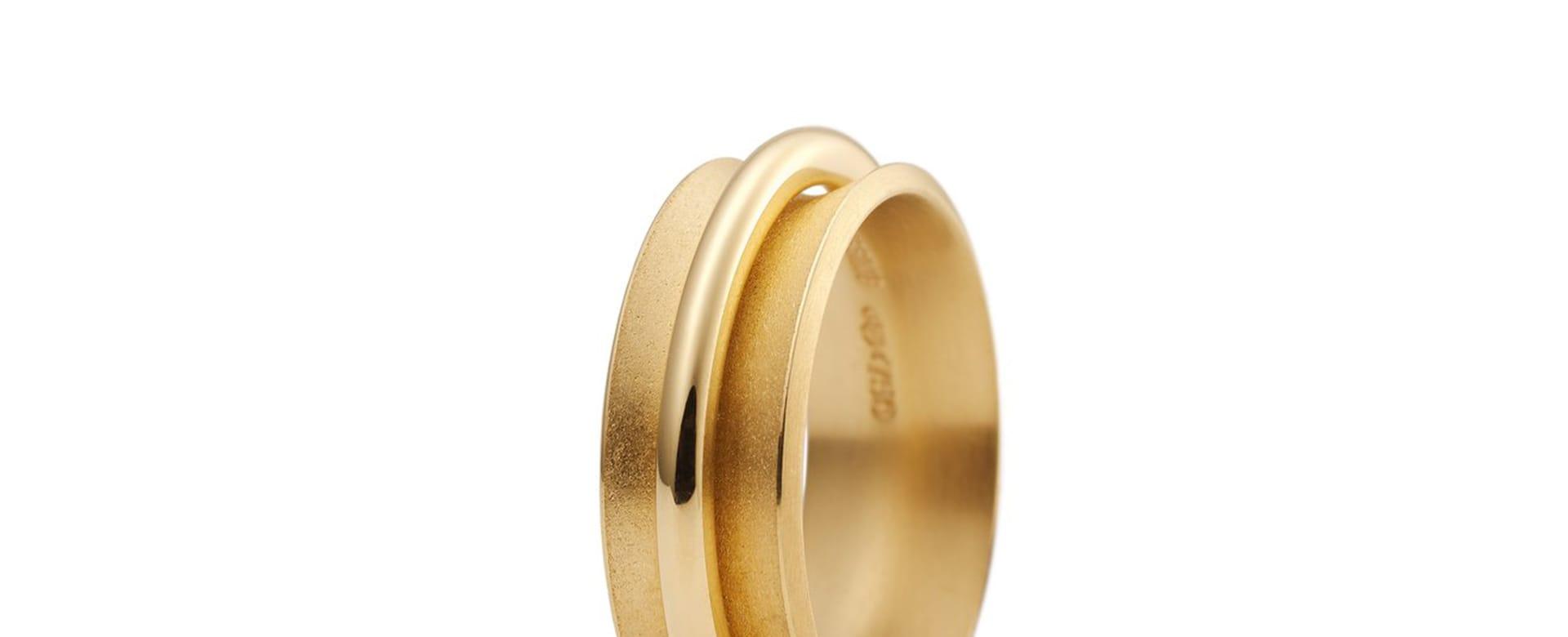 ring ring 鍛造の結婚指輪 ドイツ ニーシング niessing